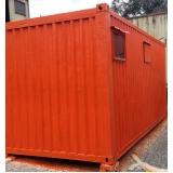 locação de container com banheiro Brooklin