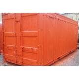 locação de container de armazenamento de carros Embu Guaçú