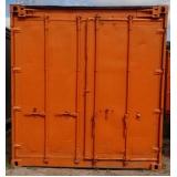 locação de container de armazenamento Mooca
