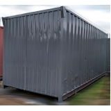 locação de container de obra para locação Mauá