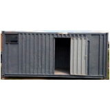 locação de container de obra Santa Efigênia