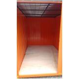 locação de container desmontável para obras preço Jundiaí