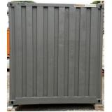 locação de container obra preço Brooklin