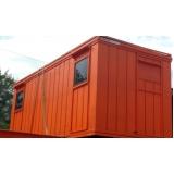 locação de container para construção civil Jardim América