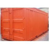 locação de container para construção sp Campo Limpo