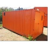 locação de container para moradia Louveira
