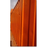 locação de container para morar com banheiro Anália Franco