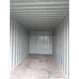 locação de container para obra civil preço Jardim Paulistano