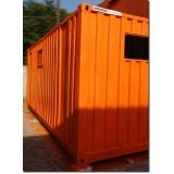 locação de container para obras de construção civil Embu Guaçú