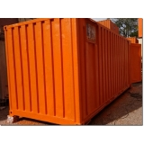 locação de container para obras de construção Ribeirão Pires