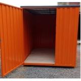 locação de container para obras preço Guararema