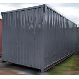 locação de containers de obra para locação São Sebastião