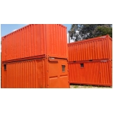 locação de containers habitáveis preço Piracicaba
