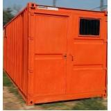 locação de containers habitáveis sp Água Rasa