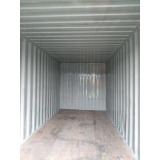 locação de containers na obra Campinas