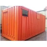locação de um container habitável Sumaré