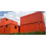 locar container escritório Anália Franco