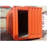 loja de container de obras para alugar Piracicaba
