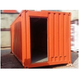 loja de container de obras para alugar Campo Limpo
