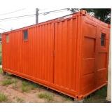 loja de container de obras para aluguel Taubaté