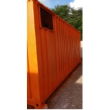 loja de container de obras para locações Higienópolis