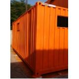 quanto custa alugar um container escritório Hortolândia