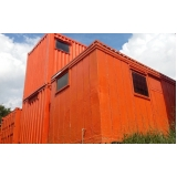 quanto custa container de obras para alugar Cotia