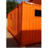 quanto custa container de obras para locações Jockey Club