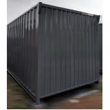 quanto custa locação de container canteiro de obras Embu Guaçú