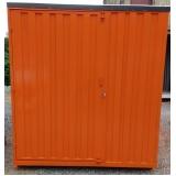 quanto custa locação de container desmontável para obras Jardim América