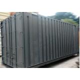 quanto custa locação de container obra civil Jaçanã