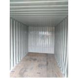 quanto custa locação de container obra Guarujá