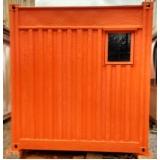 serviço de locação de container Ponte Rasa